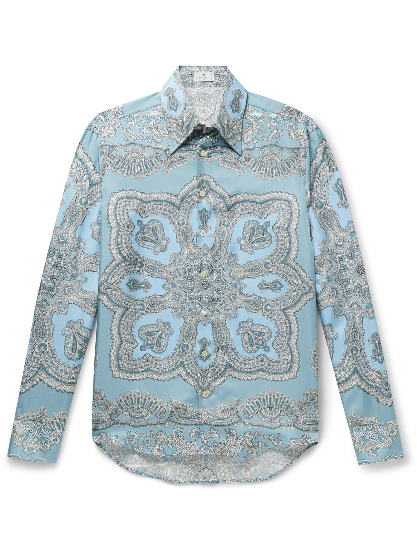 Photo: Etro - Paisley-Print Silk Shirt - Multi
