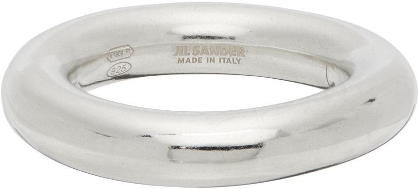 Photo: Jil Sander Silver Classic Ring