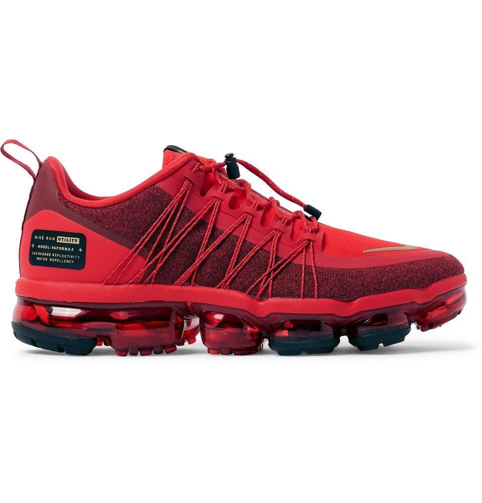 Nike Running - Air Vapormax Run Utility Water-Repellent Sneakers - Men - Red