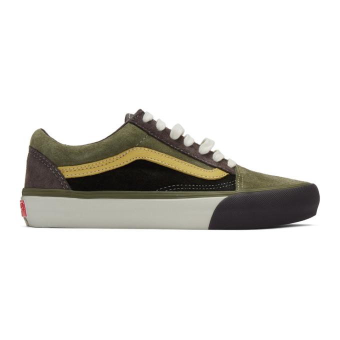 Photo: Vans Grey and Green Old Skool Vault LX Sneakers