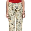 NAPA by Martine Rose Tan Leopard Jeans