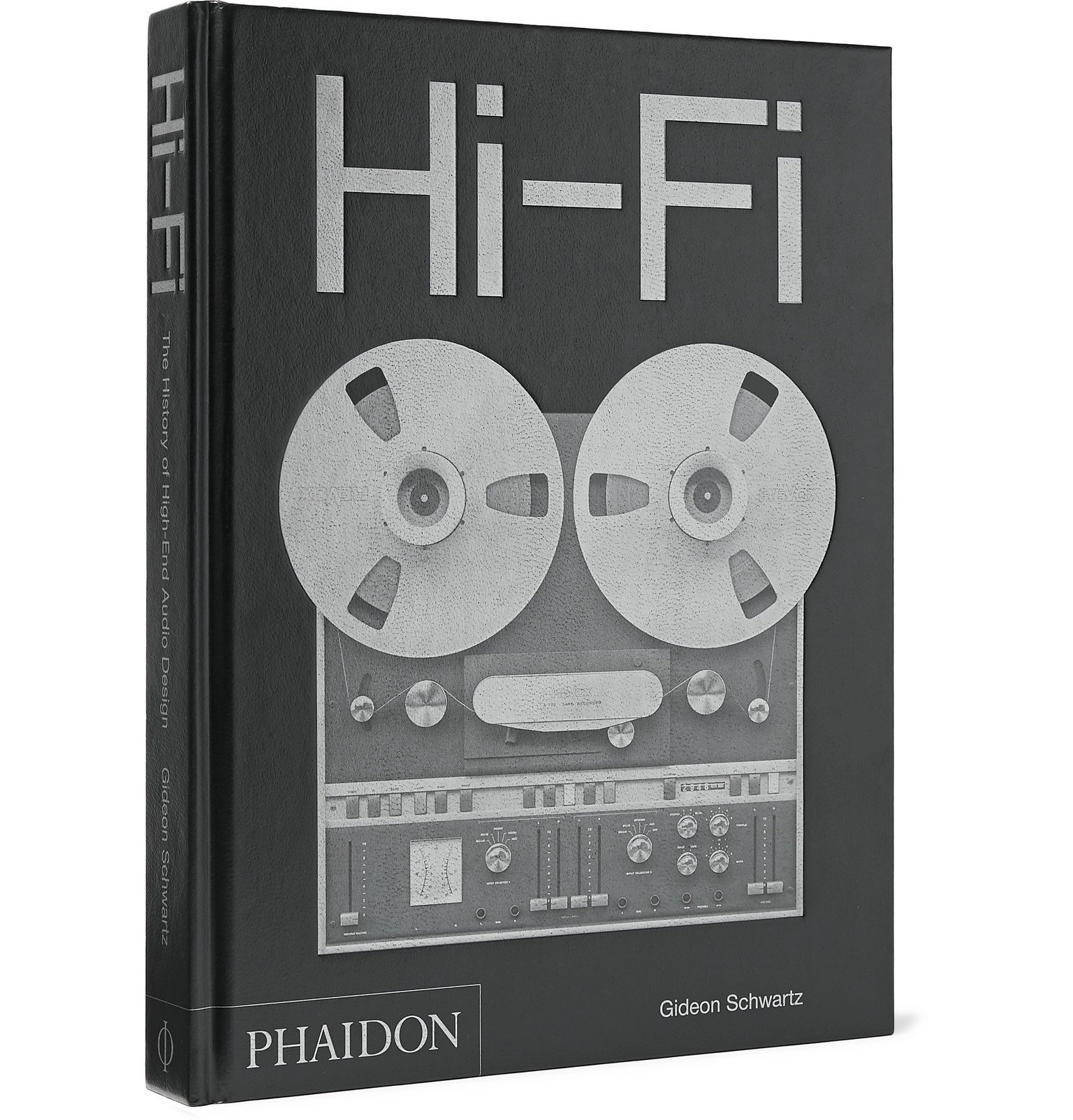 Photo: Phaidon - Hi-Fi The History of High-End Audio Design Hardcover Book - Black