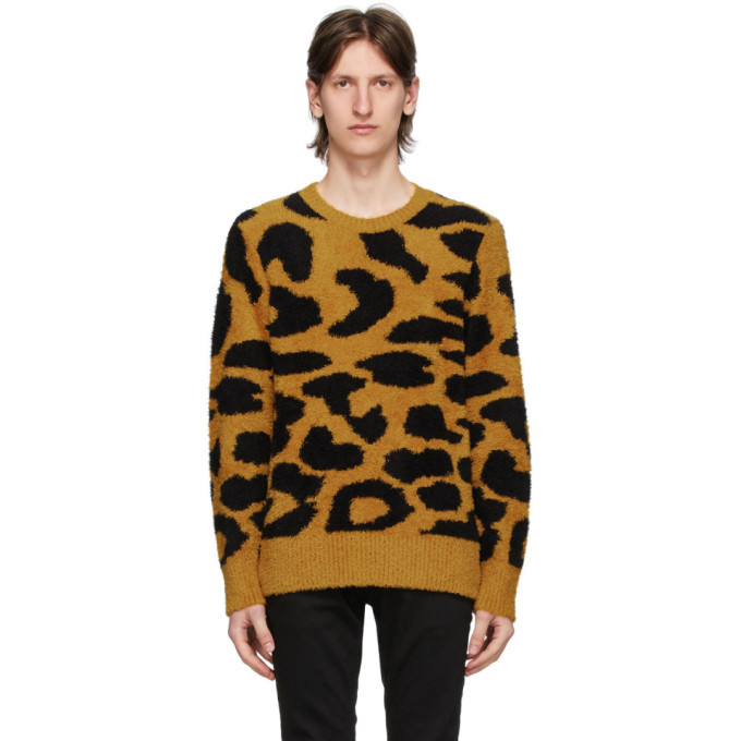 Photo: Nudie Jeans Yellow Leopard Hampus Sweater