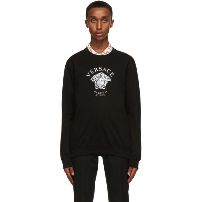 Photo: Versace Black Medusa Sweatshirt