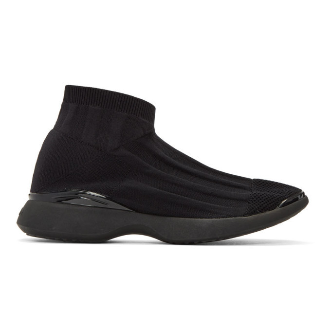 Photo: Acne Studios Black Tristan Low Sneakers