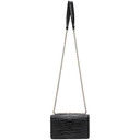 3.1 Phillip Lim Black Croc Alix Chain Clutch Bag