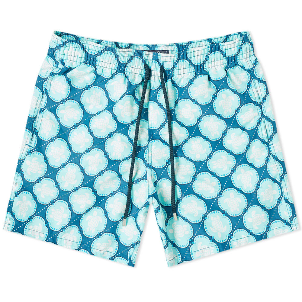Photo: Vilebrequin Moorea Turtle Dobby Print Swim Short
