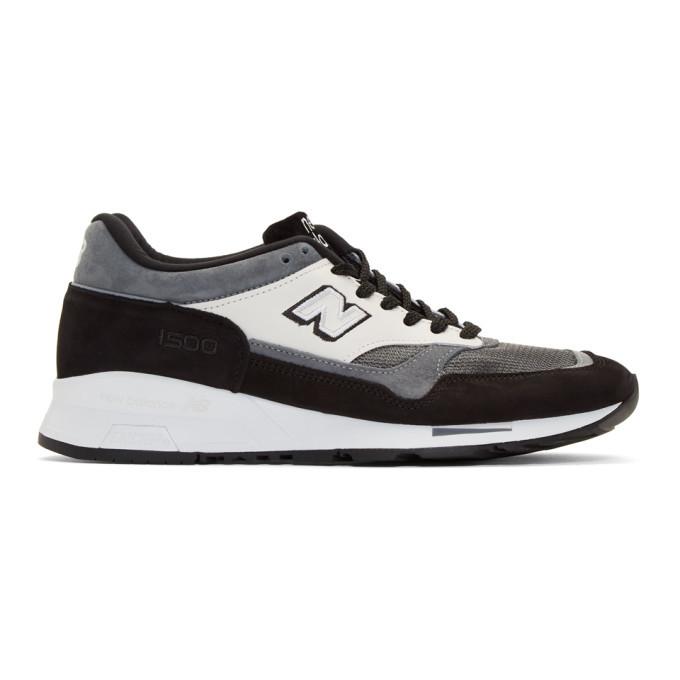 Photo: Junya Watanabe Black and Grey New Balance Edition M1500 Sneakers