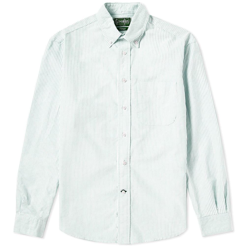 Photo: Gitman Vintage Button Down Stripe Oxford Shirt