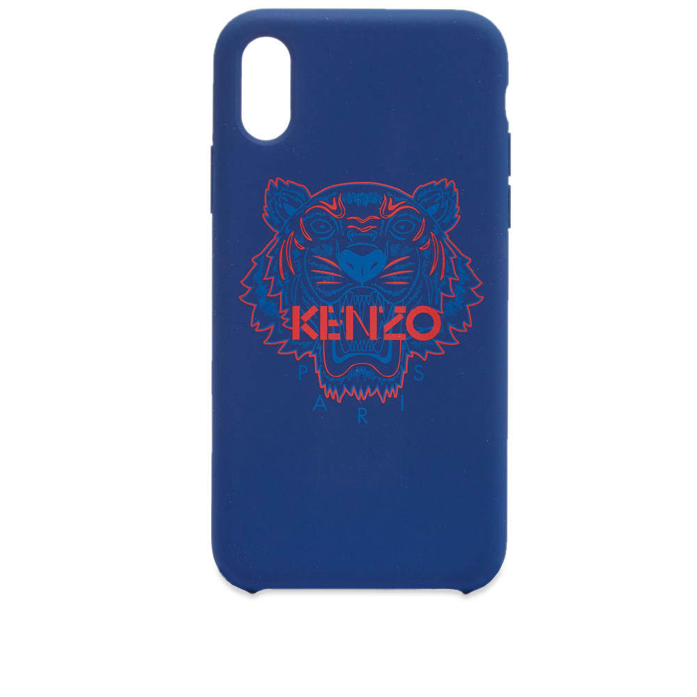 Photo: Kenzo iPhone X Rubber Tiger Case