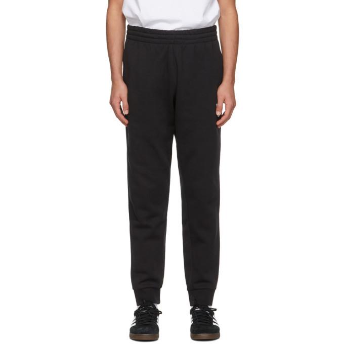 Photo: adidas Originals Black Adicolor 3D Trefoil Sweatpants