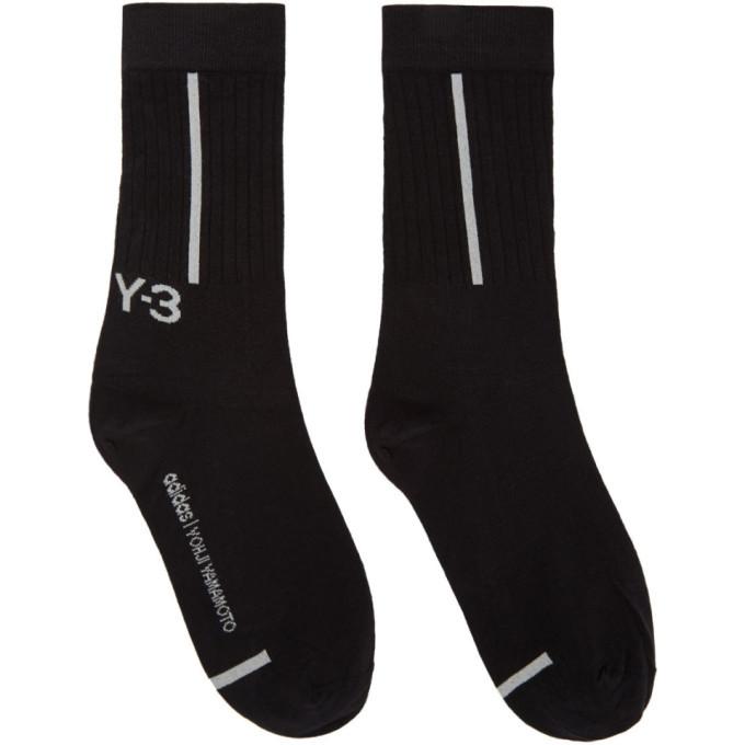 Photo: Y-3 Black Classic Crew Socks