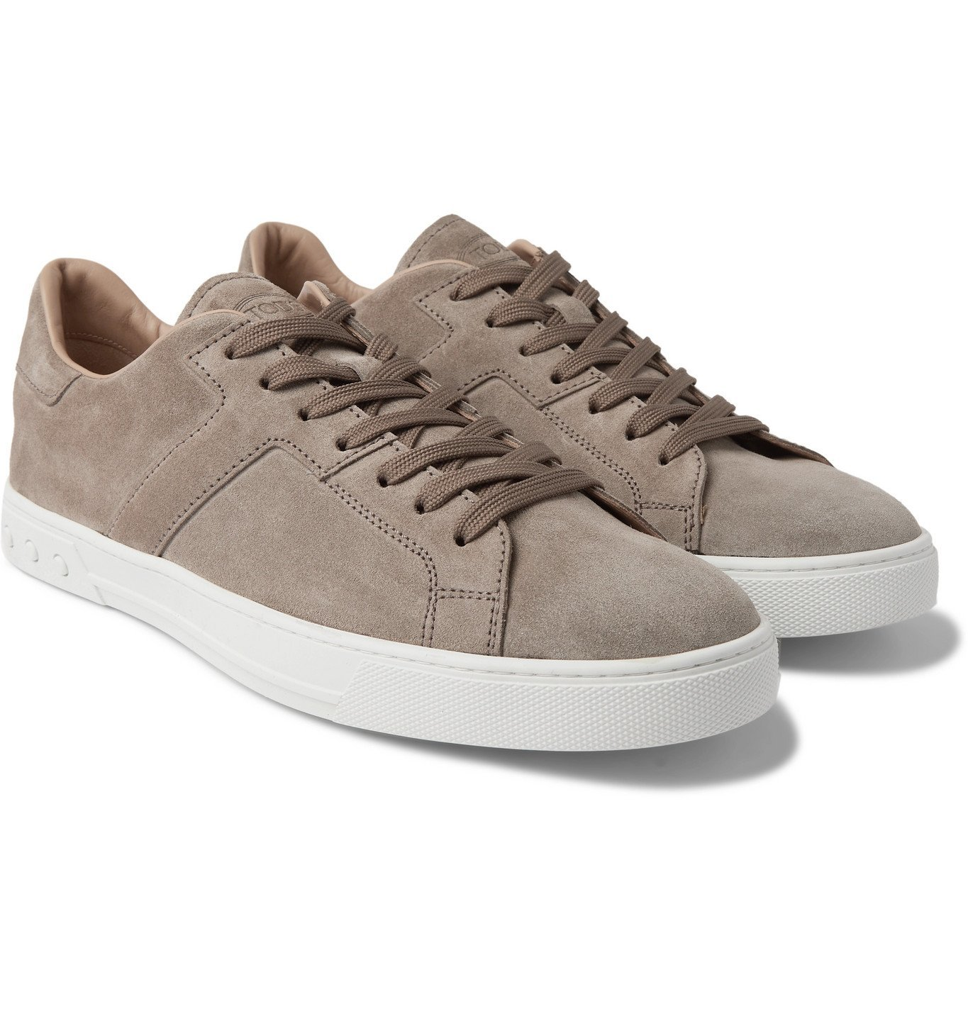 Photo: TOD'S - Suede Sneakers - Brown