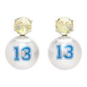 Jiwinaia Grey Thirteen Earrings