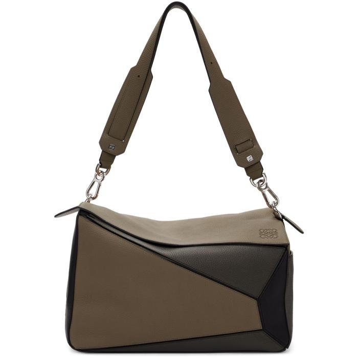 Photo: Loewe Taupe XL Puzzle Bag