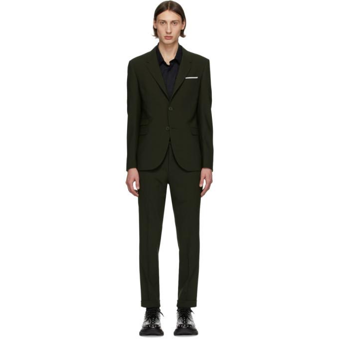 Photo: Neil Barrett Green Wool Suit