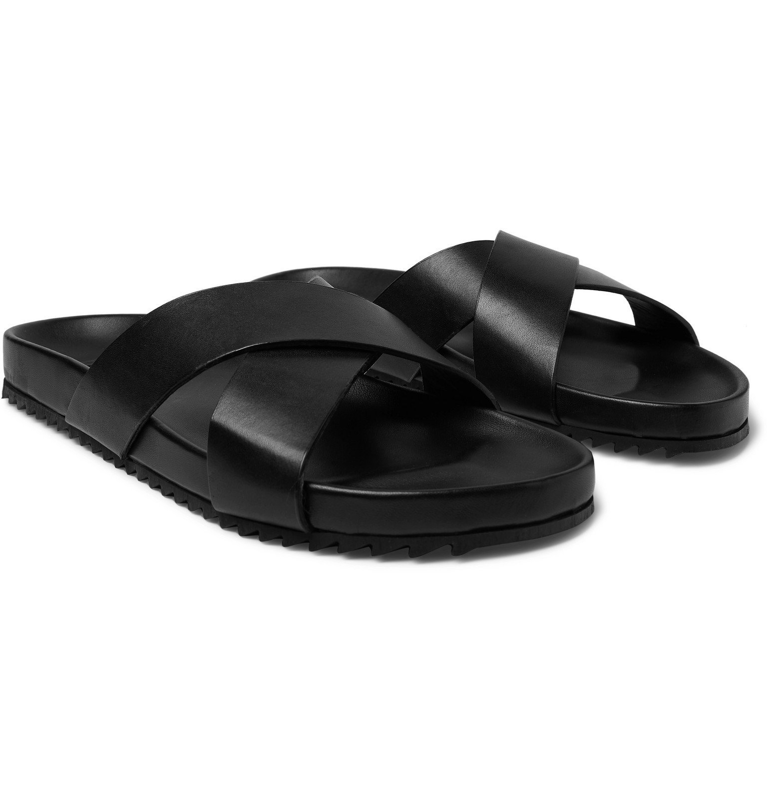 Photo: Grenson - Leather Sandals - Black