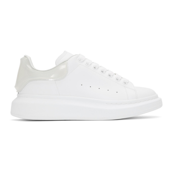 Photo: Alexander McQueen White and Transparent Oversized Sneakers