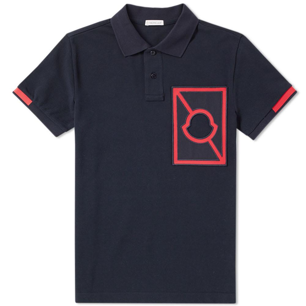 Photo: Moncler x Craig Green Cut Out Logo Polo