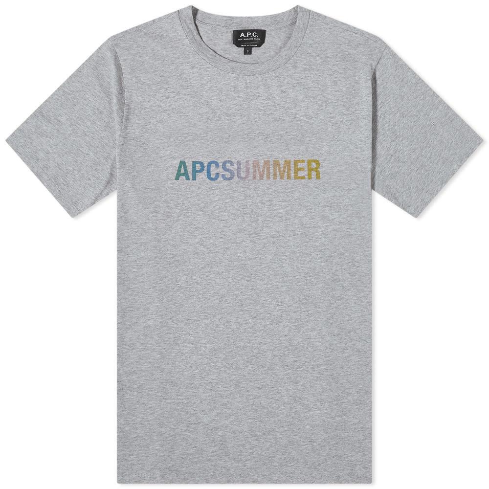 Photo: A.P.C Viktor Summer Logo Tee