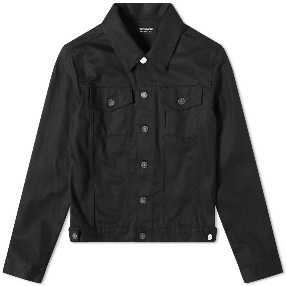 Raf Simons Zip Detail Denim Jacket