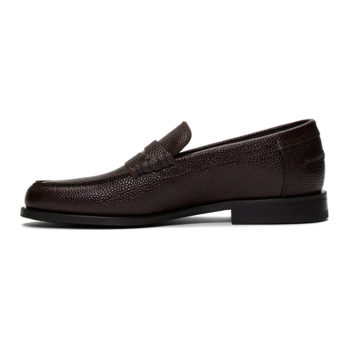 PS by Paul Smith Burgundy Teddy Loafers