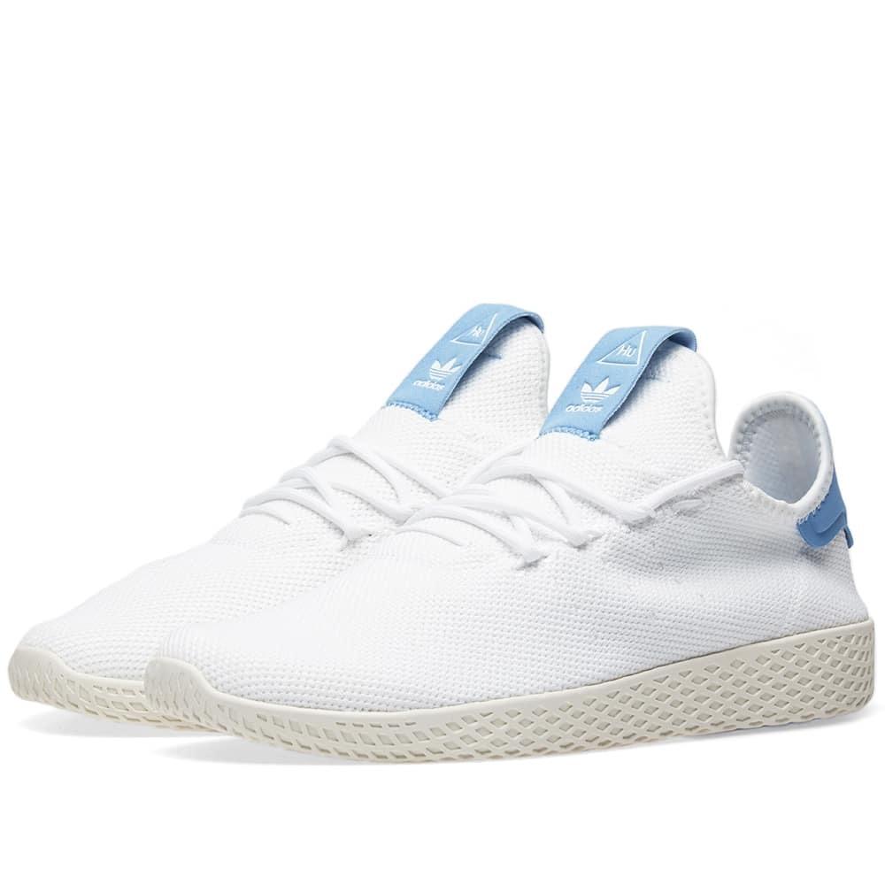 Adidas x Pharrell Williams Tennis Hu White