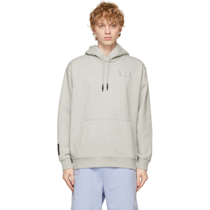 MCQ Grey Relaxed Hoodie