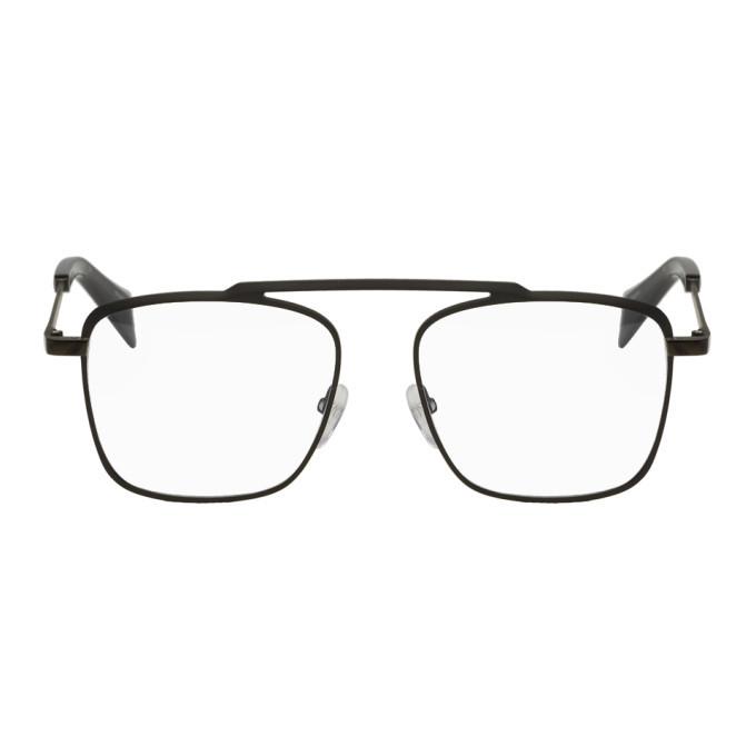 Photo: Yohji Yamamoto Gunmetal Single Piece Glasses