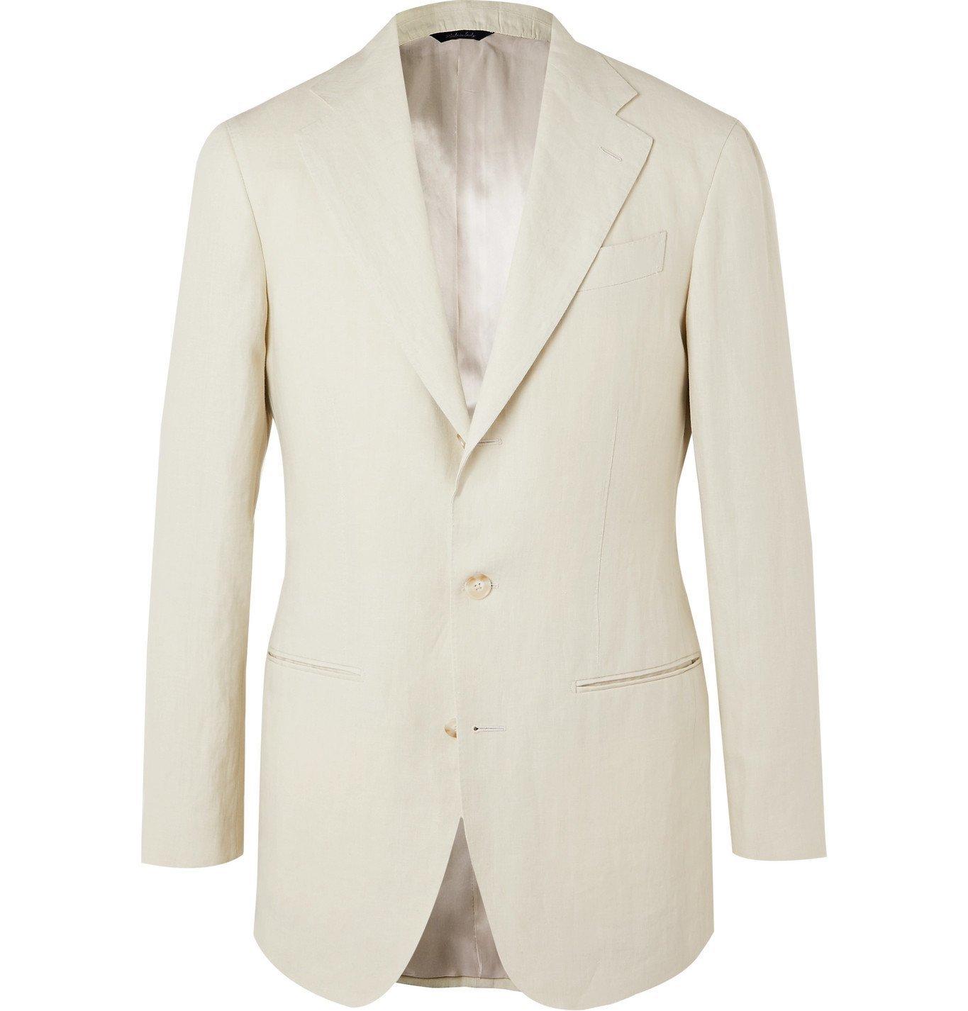 Photo: Saman Amel - Linen Suit Jacket - Unknown
