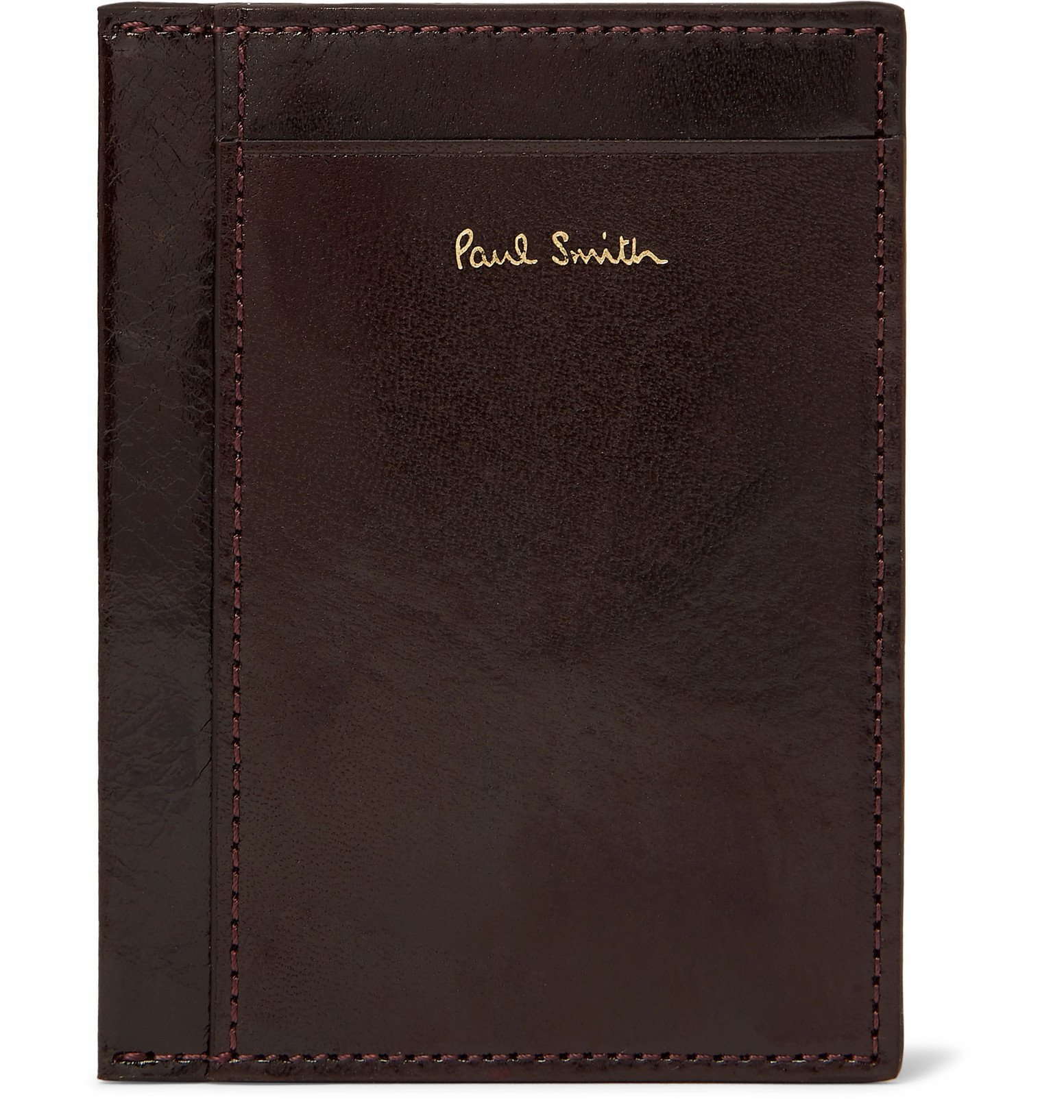 Photo: Paul Smith - Polished-Leather Cardholder - Red