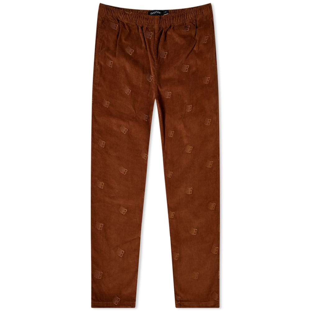 Photo: Bronze 56k Embroidered Cord Pant