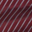 Giorgio Armani - 7cm Striped Silk-Jacquard Tie - Burgundy