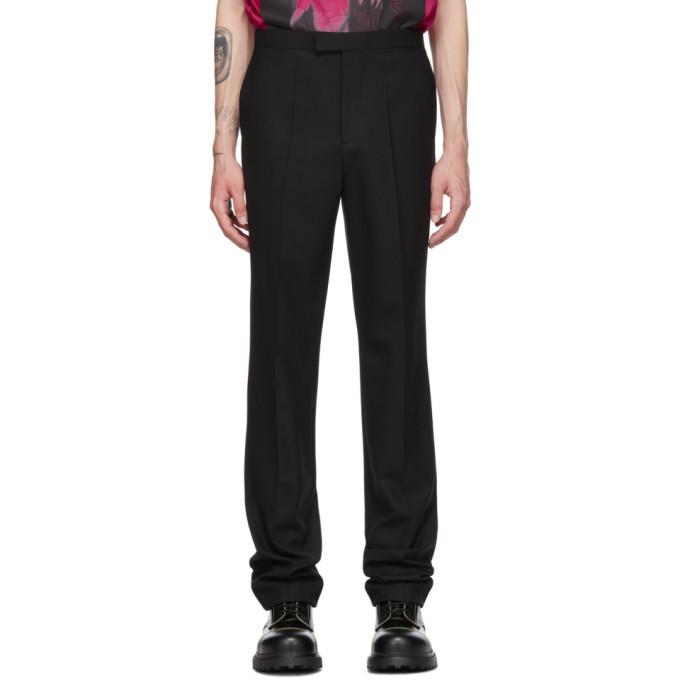 Raf Simons Black Classic Slim-Fit Trousers