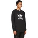 adidas Originals Black Trefoil Warm-Up Sweatshirt