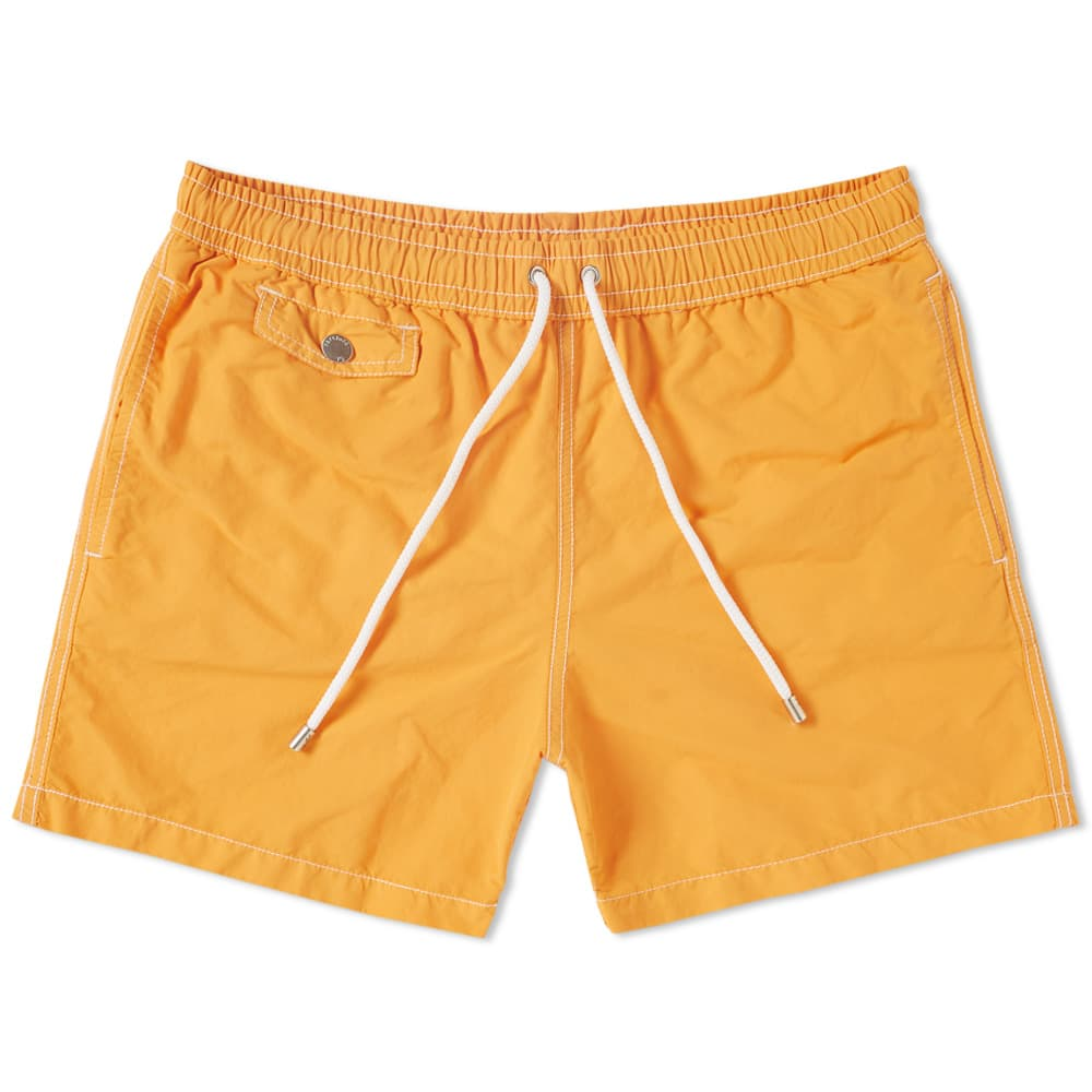 Photo: Hartford Boxer + Swim Short Yellow