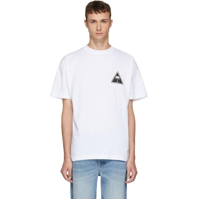 Photo: Palm Angels White Palm Icon T-Shirt