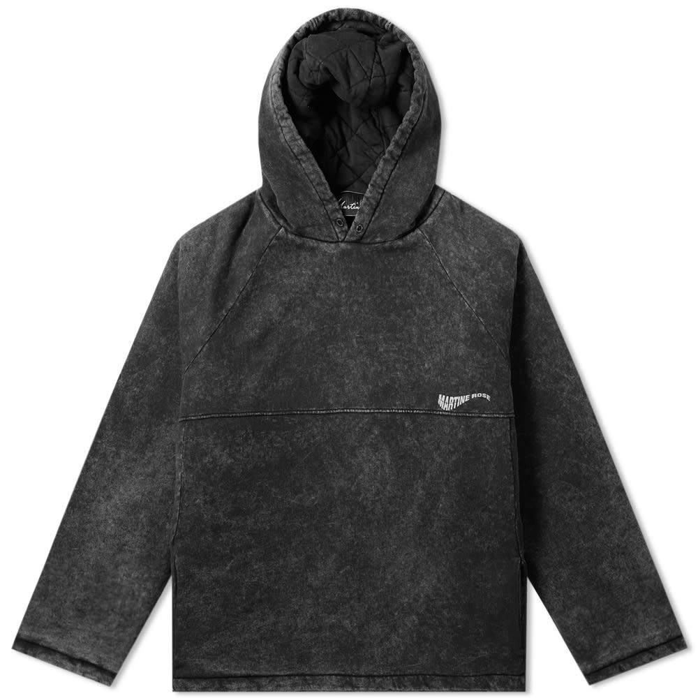 Photo: Martine Rose Acid Washed Popover Hoody