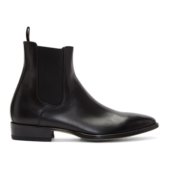 Photo: Paul Smith Black Bobby Chelsea Boots