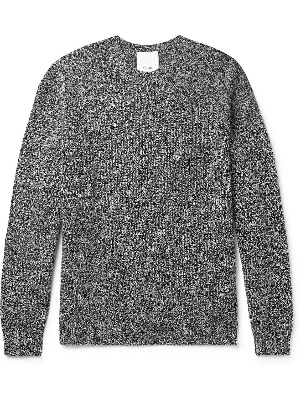 Photo: Allude - Cashmere Sweater - Black