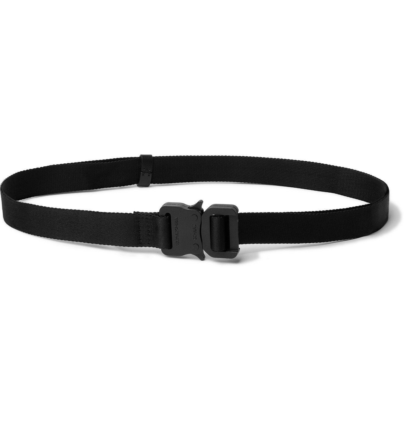Photo: 1017 ALYX 9SM - 2cm Webbing Belt - Black