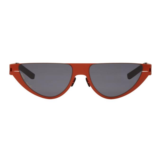 Martine Rose Red Mykita Edition Kitt Sunglasses