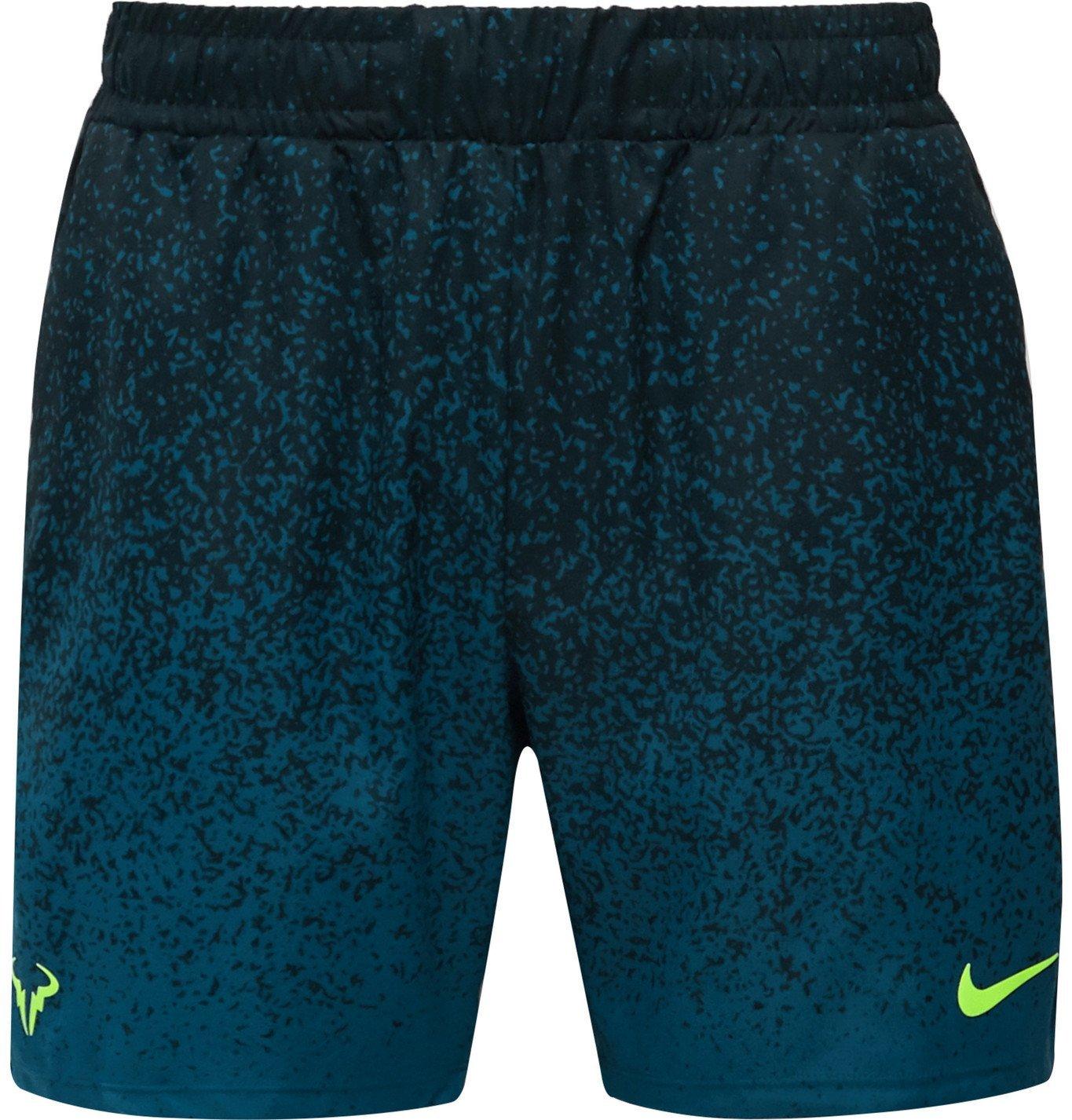 Photo: Nike Tennis - Rafa Appliquéd Dri-FIT Tennis Shorts - Black
