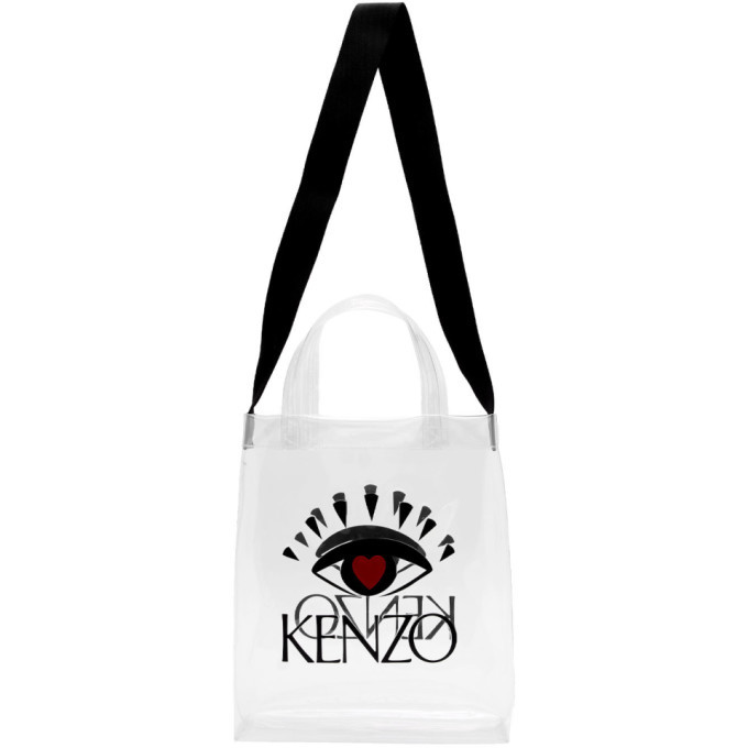 Photo: Kenzo White Limited Edition Heart Eye Tote