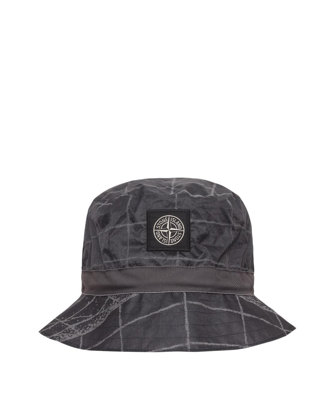 Stone Island Reflective Grid On Lamy Bucket Hat Peltro