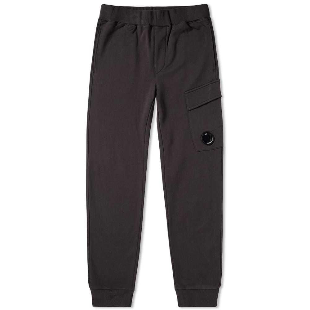 C.P. Company Lens Pocket Cargo Sweat Pant Black