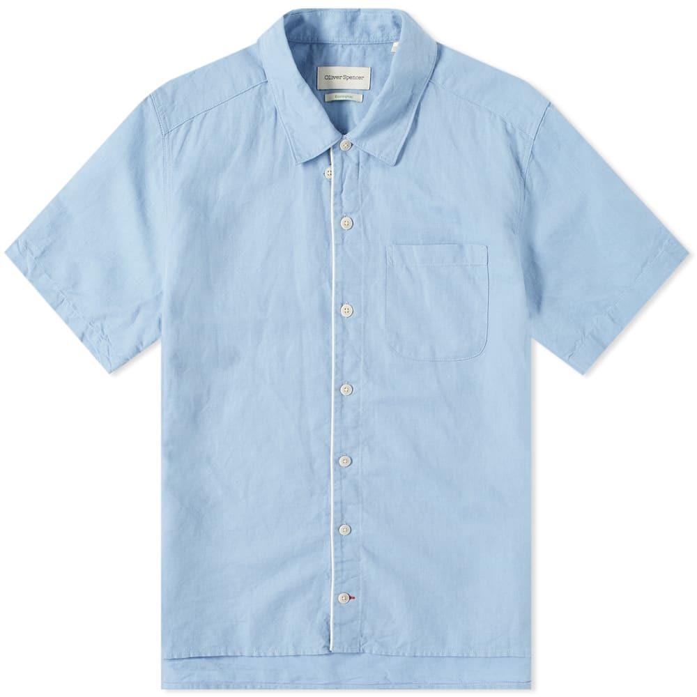 Photo: Oliver Spencer Linen Hawaiian Shirt