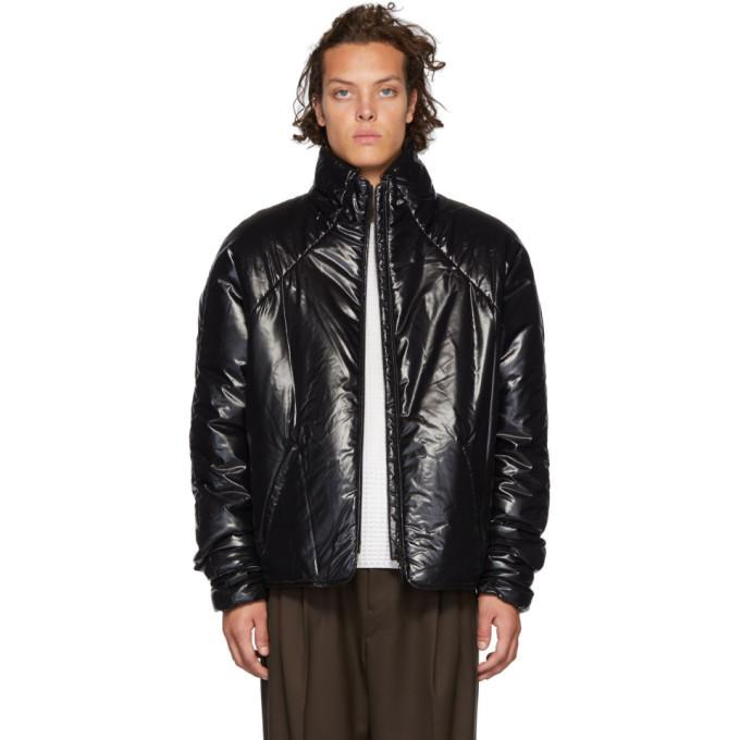Photo: Kassl Editions Black Short Puffer Jacket