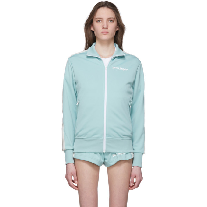 Photo: Palm Angels Blue Classic Track Jacket