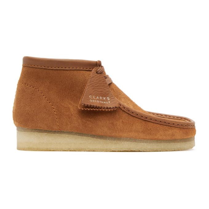 Photo: Clarks Originals Tan Suede Wallabee Desert Boots